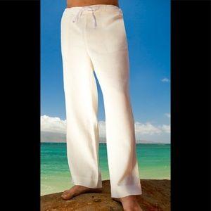 Express Heavyweight Linen/Cotton Pants
